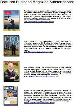 Free Business Magazines