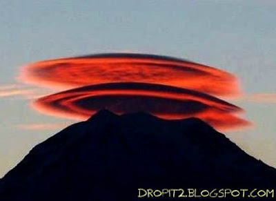 ufo alike sky