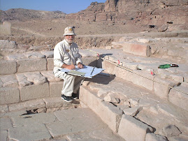 Digging In Petra