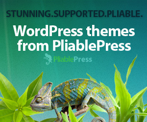 PliablePress Went Live With Chameleon Framework And Many Themes