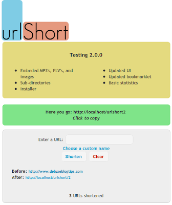 urlshort URL Shortener: Principles, Sample Code And Sources