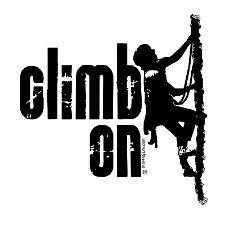 great heights rock climbing decal stickers