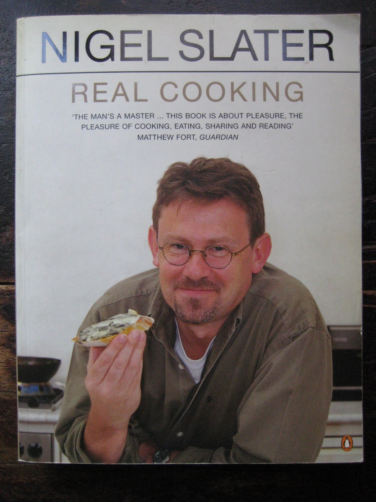 Real Food by Nigel Slater (and an Indian-spiced chicken baguette