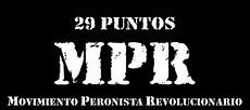 Descarga los 29 Puntos del MPR