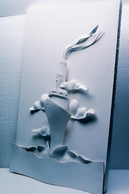 A escultura antes do trabalho fotográfico