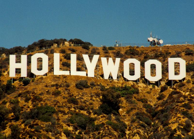 Hollywood Sign Drawing Galleryhipcom The Hippest