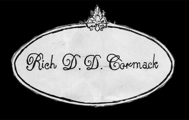 Rich DD Cormack - Fine Artist -