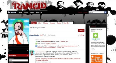 facebook layout skin template theme rancid
