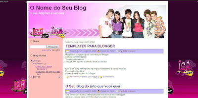Template for Blogger - Tema para Blogger Isa TK+