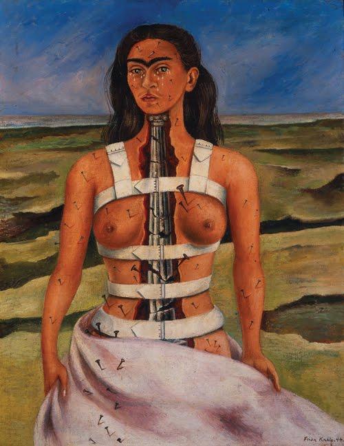 Kahlo Broken Column