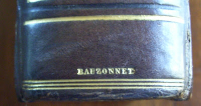 Reliure de Bauzonnet, maroquin