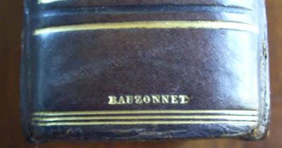 Reliure de Bauzonnet, maroquin