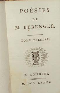 Poésies de Bérenger, Valade, Cazin