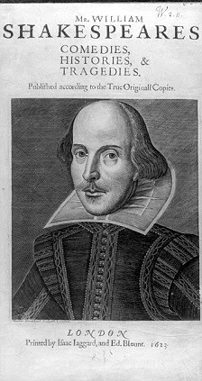 Shakespeare Folio 1623