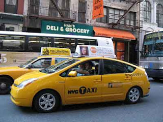 gambar mobil hibrida taksi ideal NYC