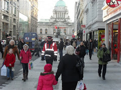 Xmas Shopping in Belfast