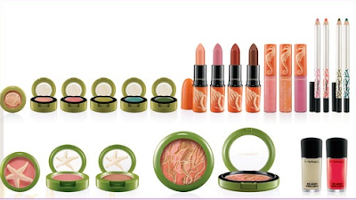 MAC To the beach products