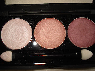 NYX Platinum Pink Salmon and Jazzy Bronze
