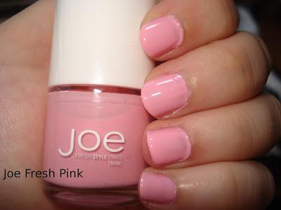 joe fresh pink