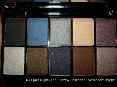nyx jazz night eyeshadow palette