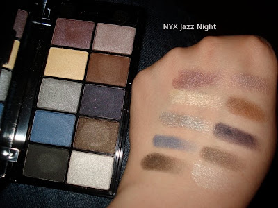 nyx jazz night swatch