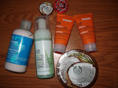 the body shop items