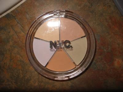 nyc concealer wheel