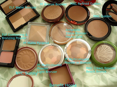 bronzer collection mac physicians formula nyc benefit