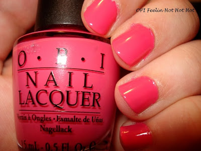 opi feelin hot hot hot