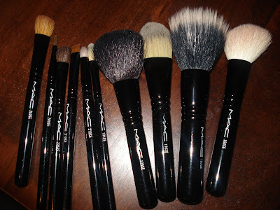 MAC brush sets graphic garden