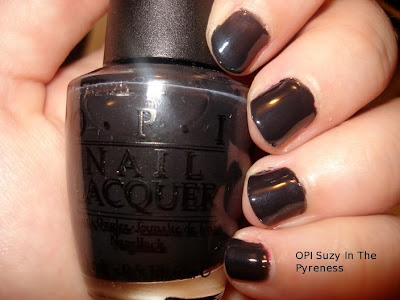 OPI Suzy Skis in the Pyreness