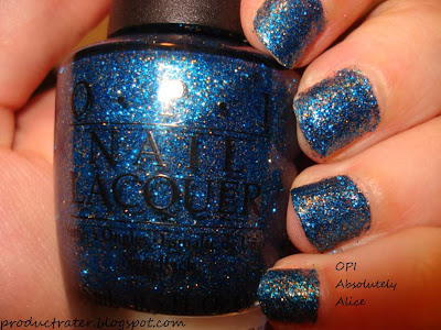 opi alice in wonderland absolutely alice