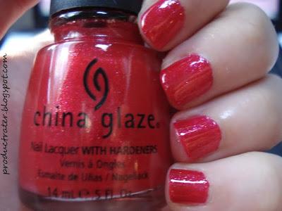 china glaze raspberry festival