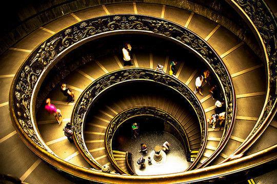 escalas en espiral