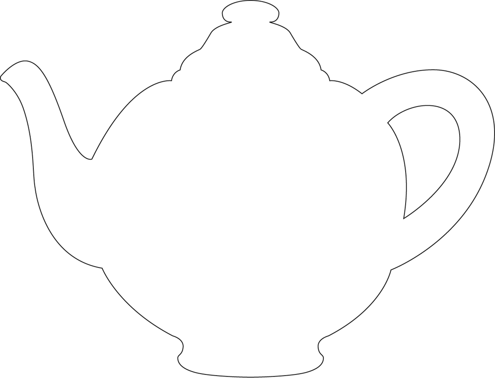It's just a graphic of Epic Teapot Template Printable