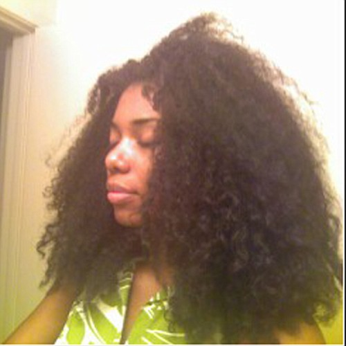 chime natural hair style icon