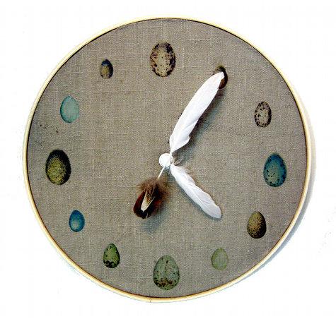 Craft tutorials galore at crafter holic ornithology clock for Diy clock