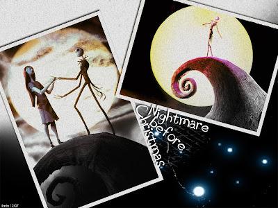Desktop Themes on Nightmare before christmas