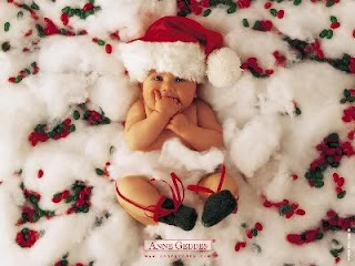 Anne geddes christmas babies wallpaper