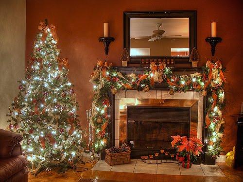 Christmas Desktop Wallpapers Christmas Fireplace Desktop Wallpapers