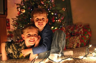 christmas kids wallpaper for desktop