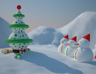 xmas snow wallpaper for desktop