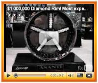 Тунинг джанти 1 милион долара с диаманти и злато
