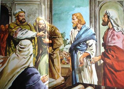 Resultado de imagem para Jesus diante do Conselho
