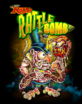 Rattlebombs back in stock now!! Black, Red, Bleu, Gold, Green, Purple & Silver