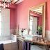 Pinky, Peachy Colors in Bathrooms & Banyolarda Pembe, Şeftali  Tonları