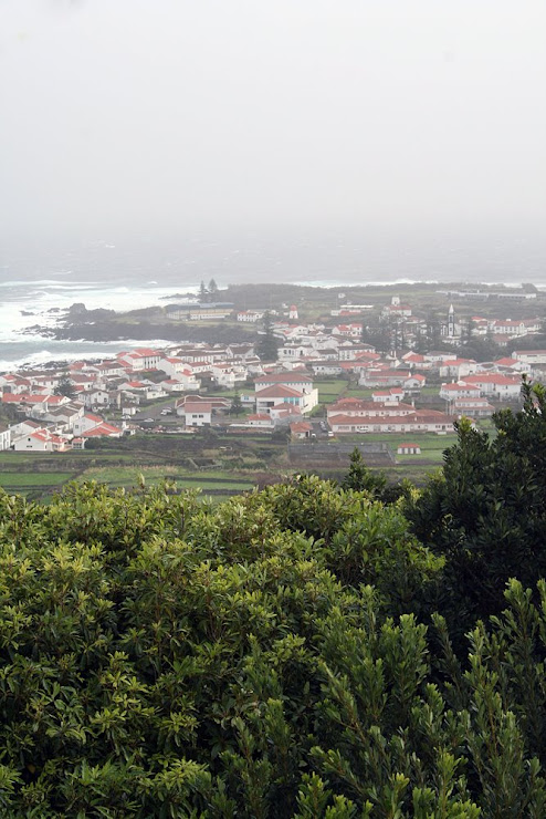Vista sobre St. Cruz - Graciosa