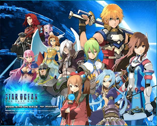 Cast of Star Ocean: The Last Hope