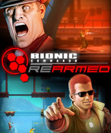 Bionic Commando Rearmed box art