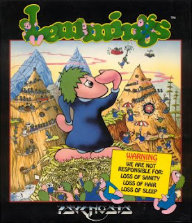 Lemmings box art